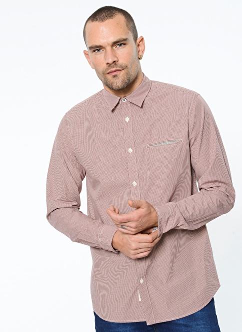 Selected Desenli Uzun Kollu Gömlek Renkli